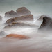 Cloudy Sea Shore by jgaosb