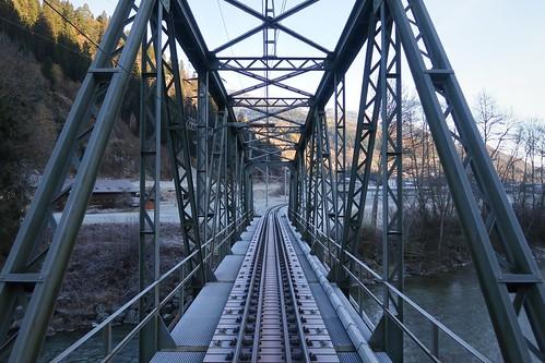 RhB - Brücke Rueun