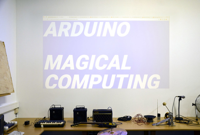 "Workshop Arduino : ""Magical Computing"""