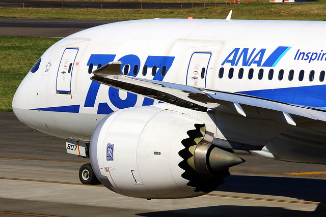 ANA All Nippon Airways Boeing 787-8 JA807A