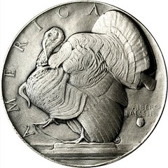 1934 Abundance Medal reverse