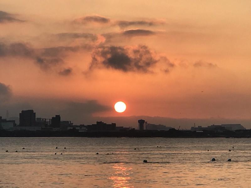 淡水夕陽落日_171203_0014