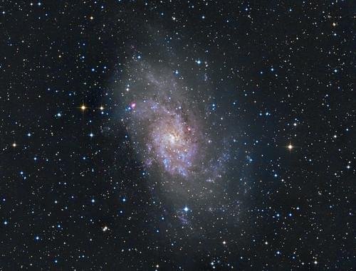 さんかく座 M33