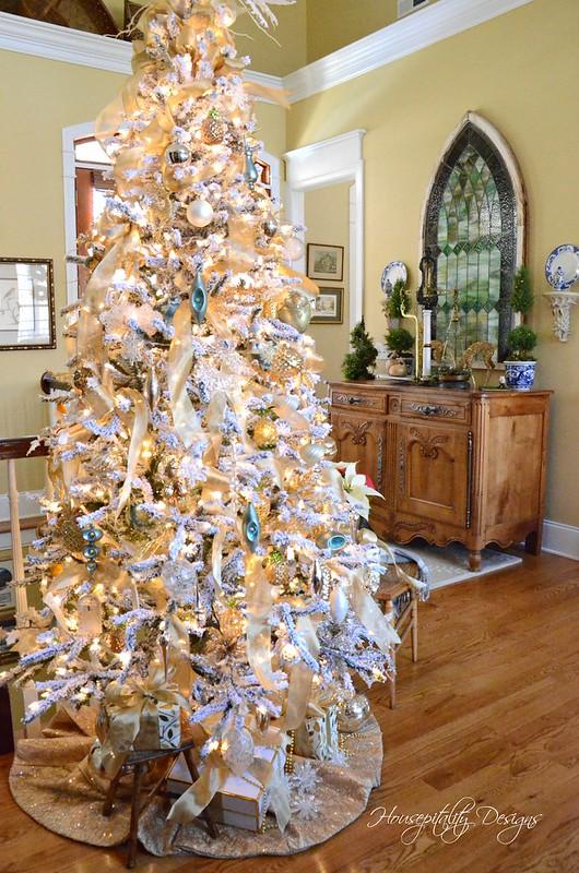 Flocked Tree-Housepitality Designs-4