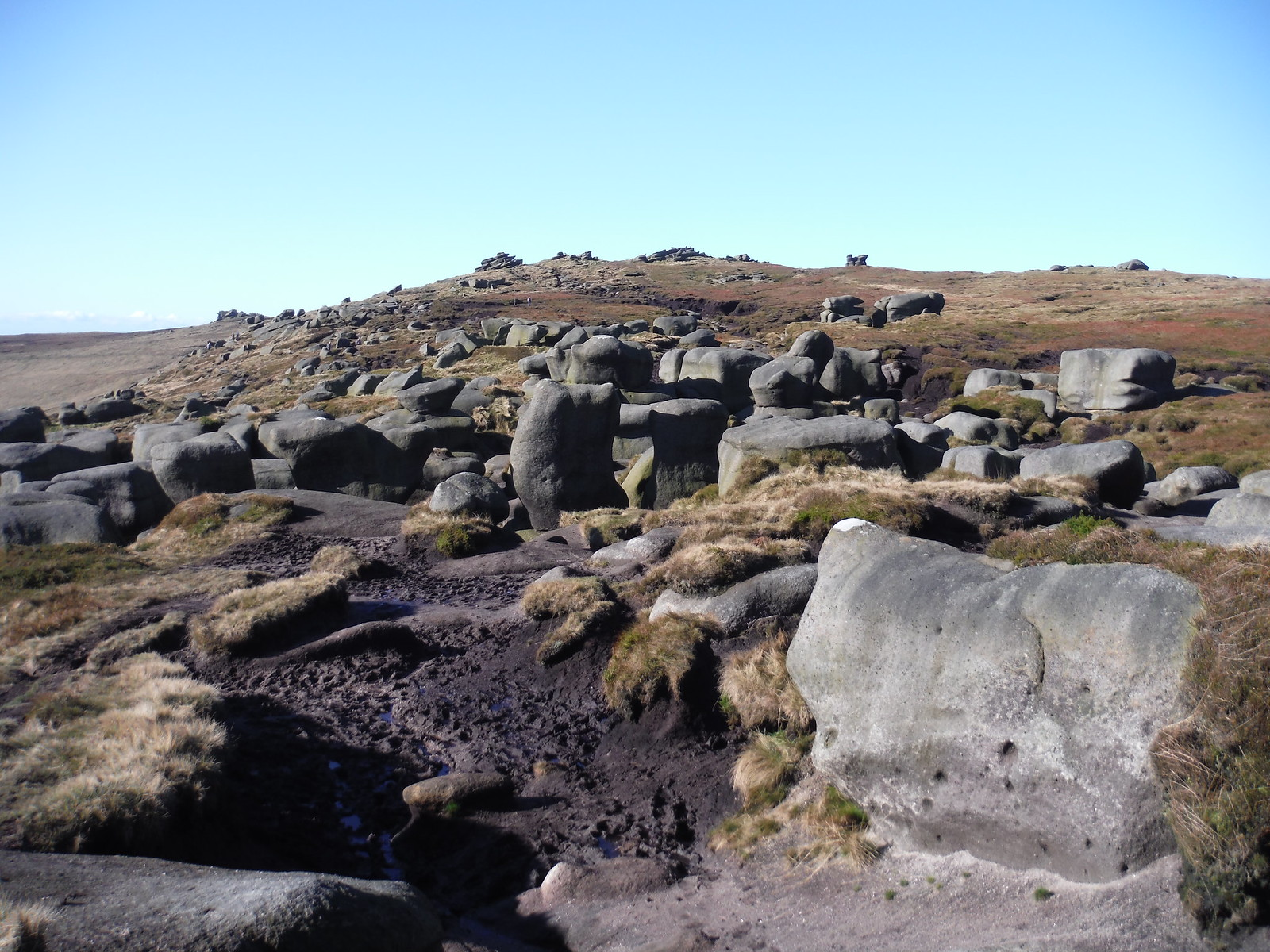 The Wool Packs SWC Walk 304 - Kinder Scout Circuit (from Edale)