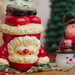 Hand-stand Santa