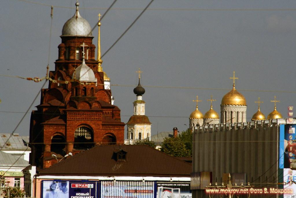 Город Владимир храм