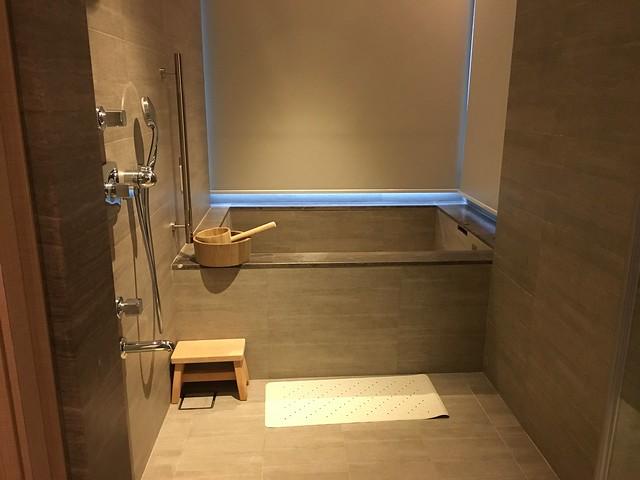 乾濕分離的浴室@宜蘭礁溪寒沐酒店