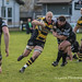 Gareth Turner goes through a hole in the Otley defence-0722