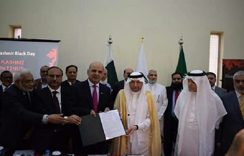 Al-Othaimeen Reiterates OIC'S Support to Kashmiris