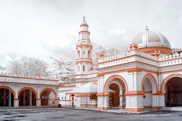 Panglima Kinta Mosque, Ipoh City (Full Infrared)