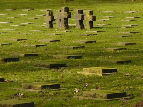 Cimetière 14-18 allemand à Hooglede