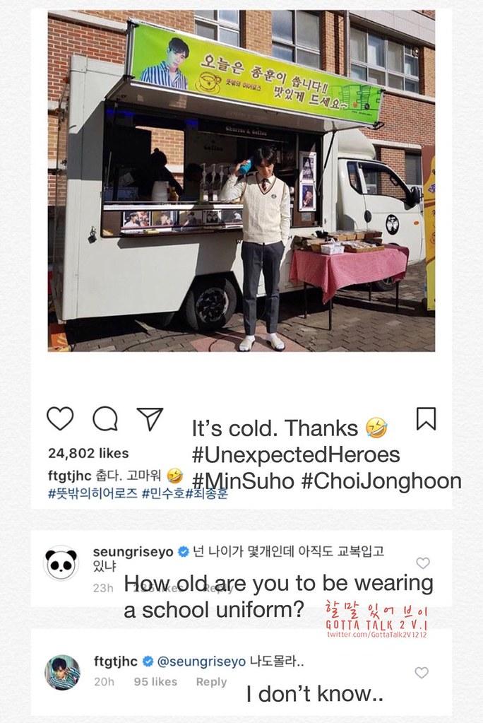 BIGBANG via GottaTalk2V1212 - 2017-11-19  (details see below)