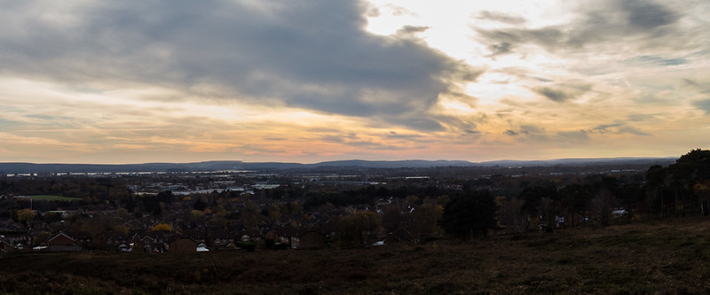 Panorama over Poole