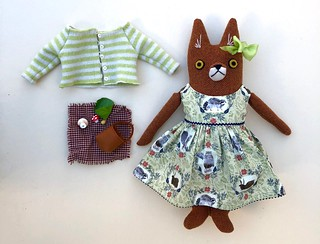 Forest-Animals-in-Socks Dress