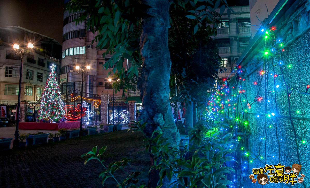 鳳山最美教堂聖誕景點-14