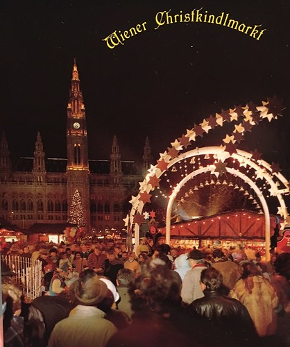 Christmas at Rathaus. From A Taste of Viennese Christmas