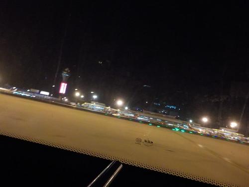 経由地北京につく