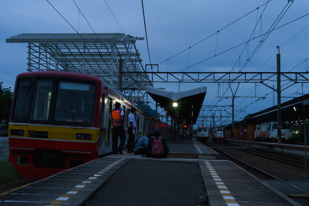 Late Evening Ops at Jatinegara