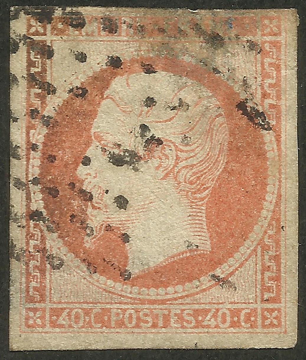 France - Scott #18 (1853)