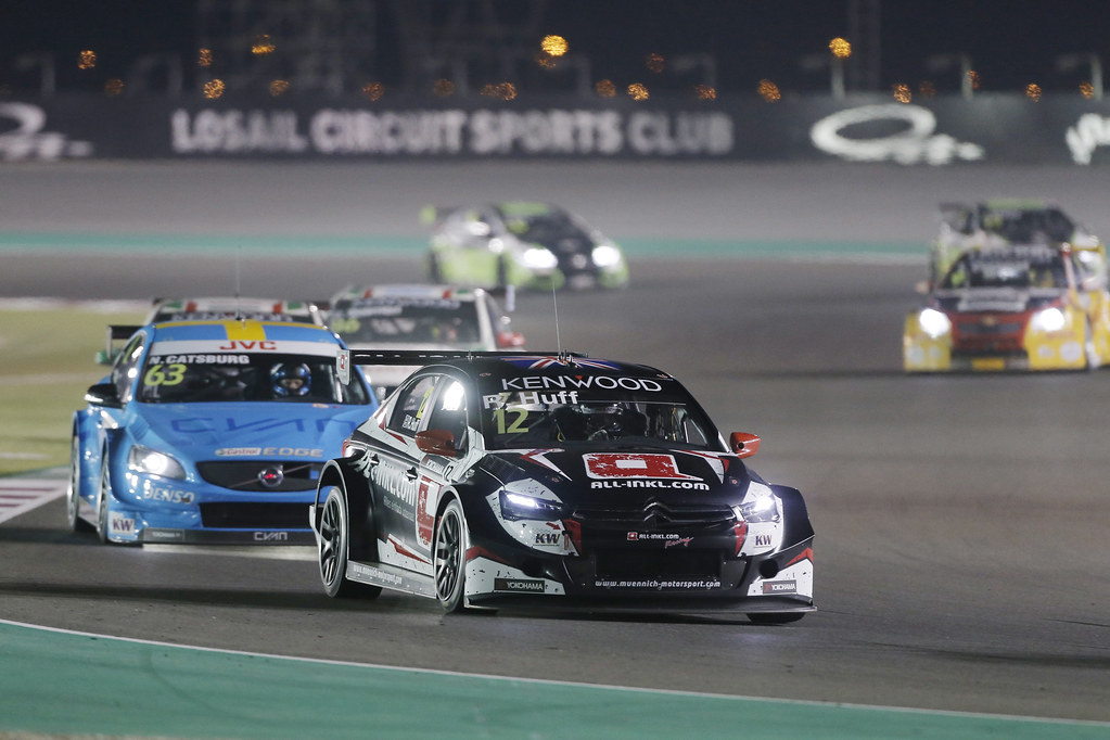 12 HUFF Rob, (gbr), Citroen C Elysee team ALL-INKL.COM Munnich Motorsport, action during the 2017 FIA WTCC World Touring Car Championship race at Losail  from November 29 to december 01, Qatar - Photo Francois Flamand / DPPI