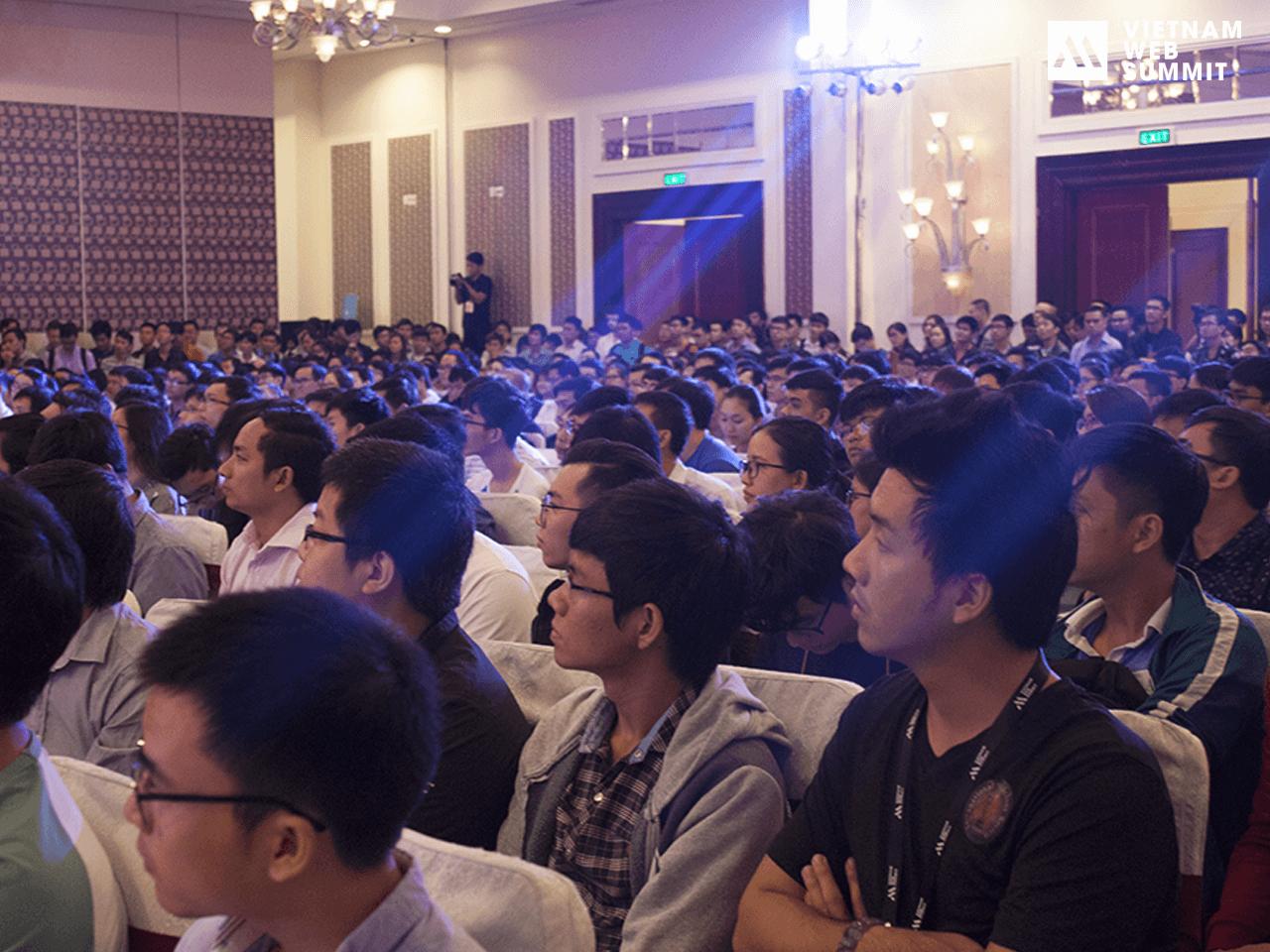 Lễ khai mạc Vietnam Web Summit 2017 ở Hồ Chí Minh