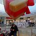 Giant Inflated Xmas Parcel (Cardiff Xmas - 2017)