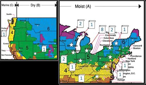 HIRL Moisture Study Site Map