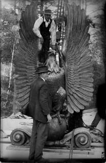 Big Eagle installation, Abington, MA