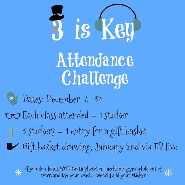 3iskey Attendance Challenge