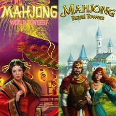 MAHJONG WORLD CONTEST&MAHJONG ROYAL TOWERS