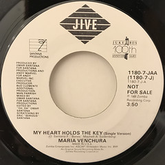 MARIA VENCHURA:MY HEART HOLDS THE KEY(LABEL SIDE-B)