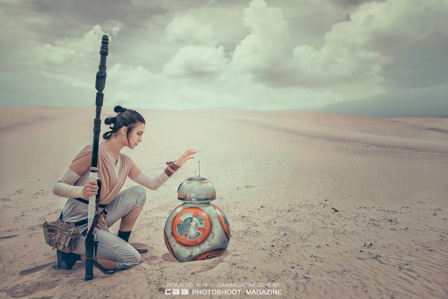 Rey | STAR WARS VII The Force Awakens - Cosplayer Cami