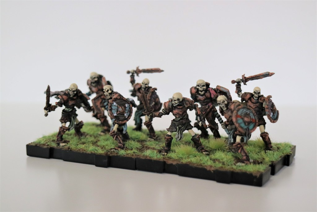 Runewars Miniatures Reanimates 2 Front