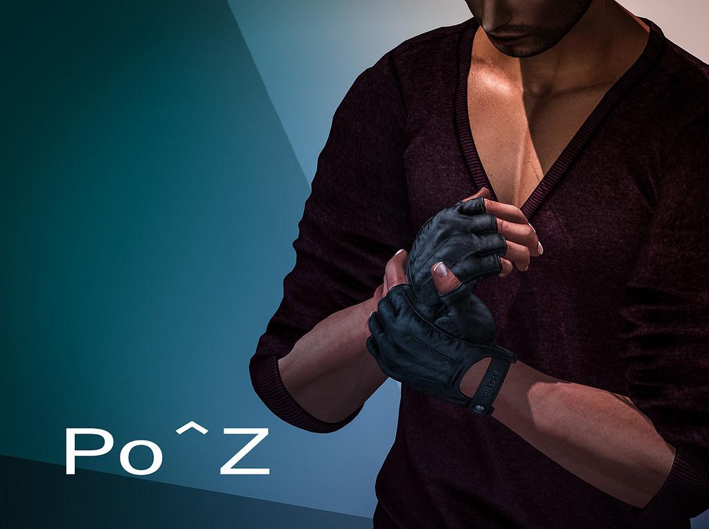 Po^z Bento – male gloves pose