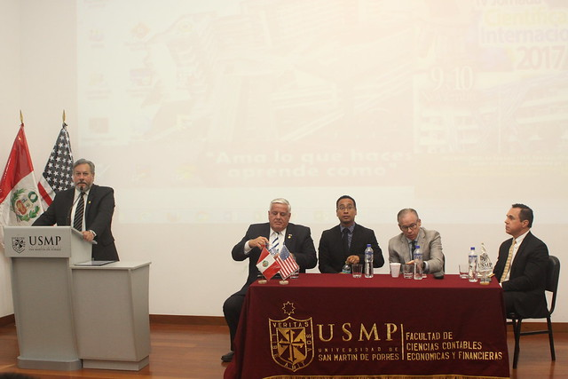 Facultad de Ciencias Contables, Económicas y Financieras de la USMP desarrolló la III conferencia internacional Leadership, Innovation, Creativity and Corporate Values