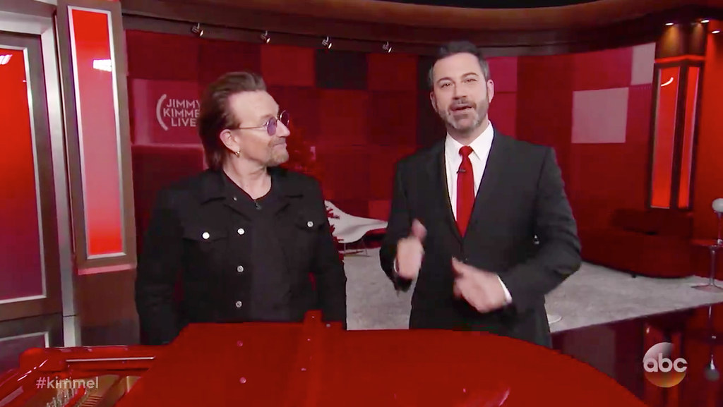 Bono & Jimmy Kimmel (2017)