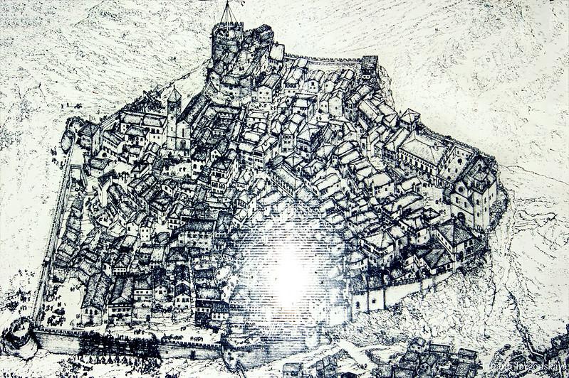 Концептуальная реконструкция Бара 16 века