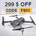 OBTAIN C-FLY F803 1080P HD Camera Wifi FPV Brushless Quadcopter