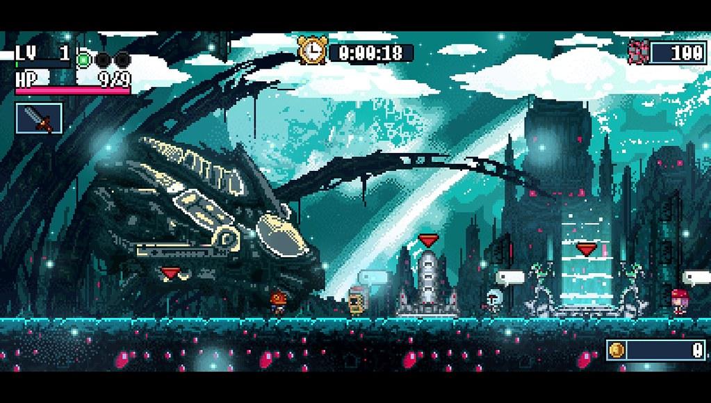 El roguelite de plataformas Xenon Valkyrie+ llega a PlayStation Vita el 19 de diciembre