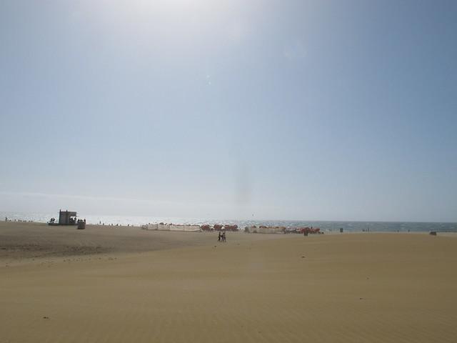 saturday, the sand dunes, maspalomas, gran canaria