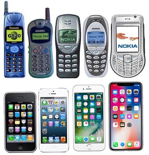 Todos mis teléfonos móviles hasta hoy