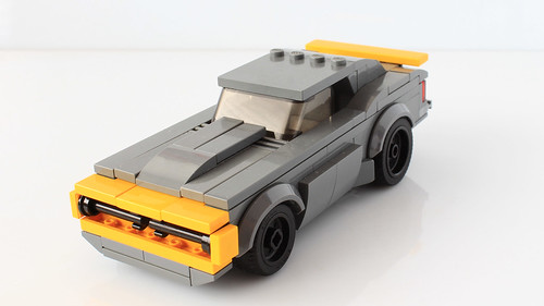 Lego Bumblebee Camaro from Transformers Age of Extinction