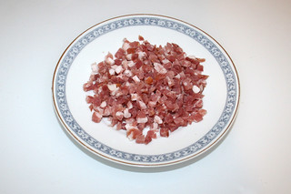 07 - Zutat gewürfelter Speck / Ingredient diced bacon