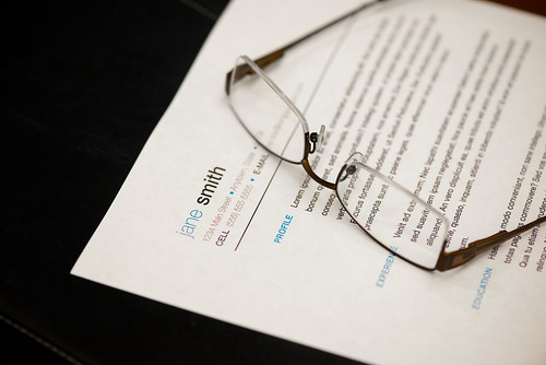 Resume - Glasses