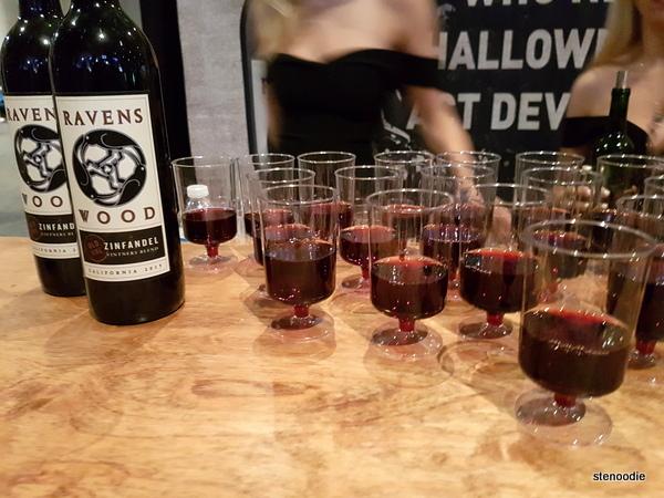 Ravens Wood red wine