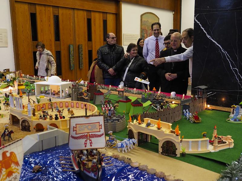 8-12-2017 - Belén Monumental de Playmobil