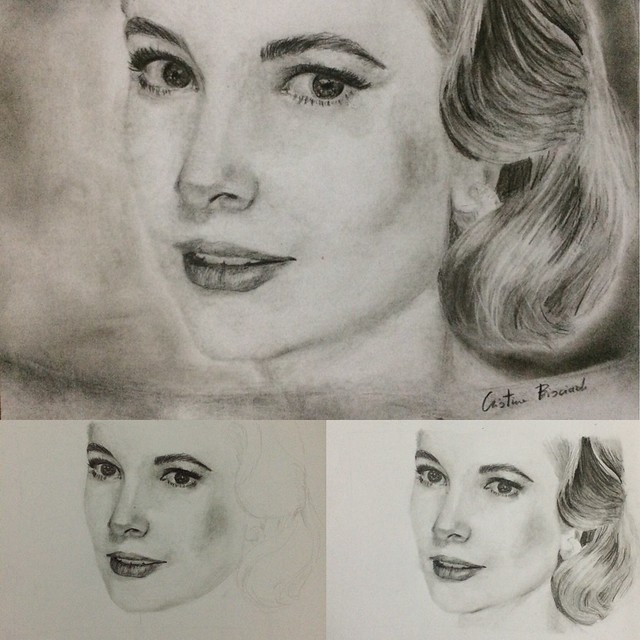 Grace kelly #art #artist #sketch #illustration #draw #drawing #pencil #beautiful #sketchbook #picture #cute #artsy #ink #color #artworks #tatoos #flickr #watercolor #charcoal #blackandwhite #design #doodle #creative #passion #gracekelly #graphic #photogra