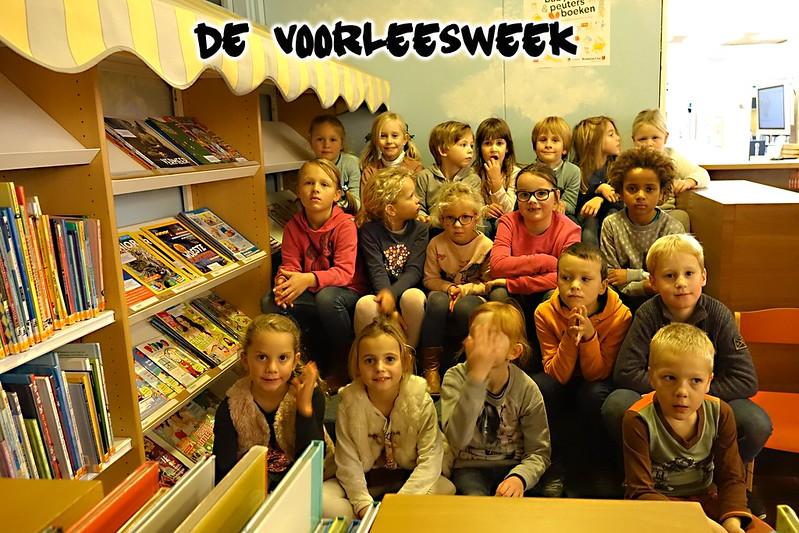 Voorleesweek 1e en 2e D 2017