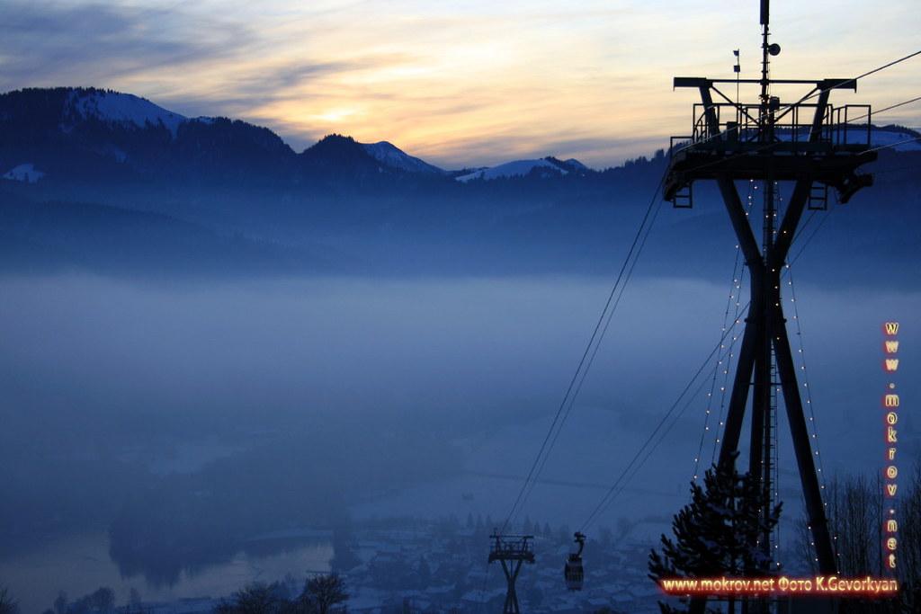 Исторический центр Баварии — земля на юге и юго-востоке Германии фотозарисовки